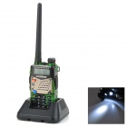 "BAOFENG UV-5RA 1.5"" LCD 5W Dual Band 128-CH Walkie Talkie w/ 1-LED Flashlight - Camouflage"