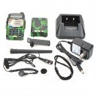 "BAOFENG UV-5RA 1.5"" 128-CH Walkie Talkie w/ Torch - Camouflage"