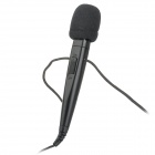 MH-820 3.5mm Unidirectional Microphone w/ Strap - Black