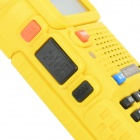 "De Baofeng UV-5R 1.5"" LCD 128 5W-CH walkie talkie w / 1-linterna LED"