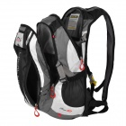 LOCAL LION Outdoor Double Shoulder Backpack Bag - Black (18L)