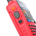 "BAOFENG UV-5RA 1,5"" LCD 5W Dual Band 128-CH Walkie Talkie w / 1-LED Lanterna - Vermelha"