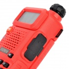 "BAOFENG UV-5R 1,5"" LCD 5W dual band 128 CH walkie talkie w / fla 1-LED"