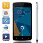 "DOOGEE MINT DG330 MTK6582 Quad-Core 5"" Android 4.2.2 WCDMA Bar Phone w/ 4GB ROM / GPS / OTG - White"