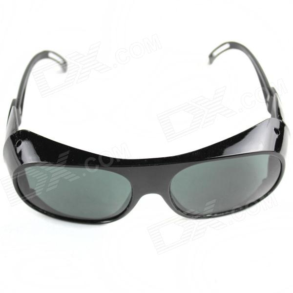 Men's Cool UV400 Protection PVC Sunglasses - Black