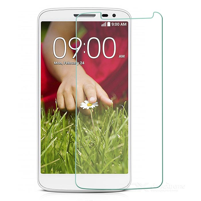 YI-YI Tempered Glass Screen Protector for LG G2 / D802 - Transparent