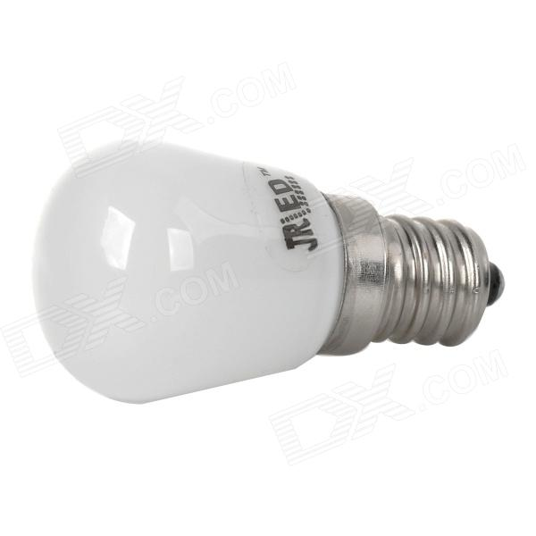 JRLED E12 2W 70LM 6300K Mini White Light Refrigerator Lamp Bulb - White (AC 220~240V)