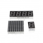 XD XD08 DIY RFID Stepper Motor w/ 13 Expansion Modules Application Kit for Arduino - Blue + White