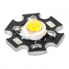 JRLED 5W 6 ~ 7 V caliente de la lámpara de luz blanca de 4-Chip 400LM 3300K LED Spotlight