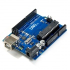 DIY UNO R3 Development Board Microcontroller w/ USB Cable for Arduino UNO R3 - Deep Blue
