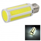 JRLED E27 8W 600lm 6500K 8-COB LED White Light Lamp Bulb - Yellow + White (AC 220~240V)