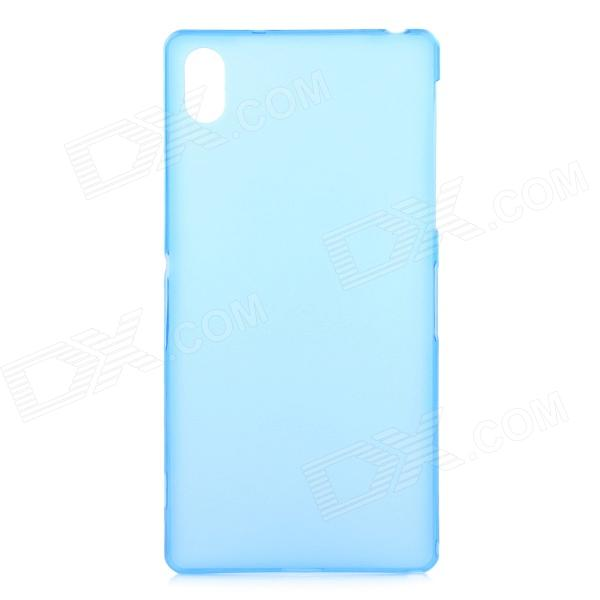Ultra-thin 0.3mm Protective PP Back Case for Sony Xperia Z2 L50W - Translucent Blue смартфон sony xperia xa1 ultra dual