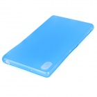 Ultra-thin 0.3mm Protective PP Back Case for Sony Xperia Z2 L50W - Translucent Blue