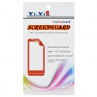 YI-YI Protective PET Matte Screen Guards Protectors for LG G2 / D802 - Transparent (5 PCS)
