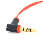 3.5mm Audio / Car AUX / Earphone Cable - Red + White + Black (120cm)