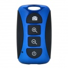 TY-101 Mini Wireless Bluetooth V3.0 Selfie Remote Shutter for Cellphones - Blue + Black