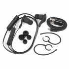 BT-H06 Sports Mini Stereo Bluetooth V3.0 In-Ear Earphones w/ Microphone for Running - Black