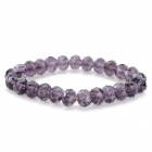 Fenlu FL-058 Women's Fashionable Rhinestone Bead Bracelet - Purple