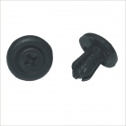 Carking Plastic Bumper Clips / Panel Fasteners for Honda - Black (100 PCS)
