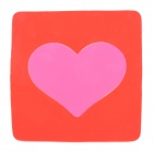 Magic Heart Style Vehicle Car Anti-slip Non-slip Silicone Mat Pad - Red + Pink
