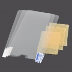 HD Clear PET screen protector film Guard voor Samsung Galaxy Tab 7.0 4 / T230 / T231 / T235 (3 Sets)