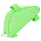 ROSWHEEL Outdoor Cycling Bike Top Tube Triangle Bag - Green
