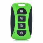 TY-101 Mini Wireless Bluetooth V3.0 Selfie Remote Shutter for Cellphones - Green + Black