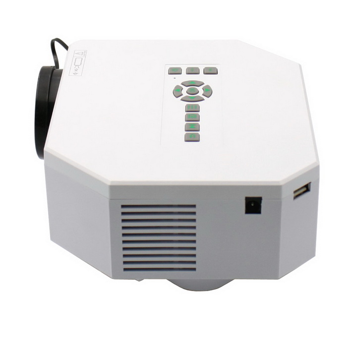 Uc30 30w portable mini lcd high definition projector w sd for Micro portable projector