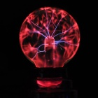 "3"" Magic Party Christmas Gift Static Plasma Lightning Ball Sphere - Crystal Purple"