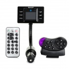 "1.44"" LCD Screen Bluetooth Handsfree FM Modulator Car MP3 Player w/ SD / TF - Black (12V)"