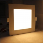SKLED S-9W 9W 860lm 3000K 45-SMD 3528 LED Warm White Panel Ceiling Light - White (AC 85~265V)