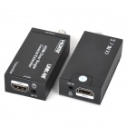 LINK-MI LM-CX100 IR Control Single 100m / 328ft Coaxial Cable HDMI Extender Transmitter & Receiver
