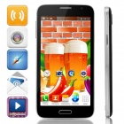 "G9006W (G9006) MTK6572 5.0"" Screen Dual-Core Android 4.2.2 Bar Phone w/ Wi-Fi / GPS / FM - Black"