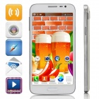 "G9006W (G9006) MTK6572 5.0 ""Screen Dual-Core Android 4.2.2 Bar Telefon w / WLAN / GPS / FM - White"