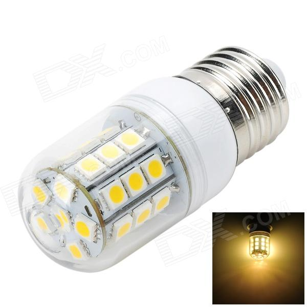Marsing L22 E27 4W 400lm 3000K 30-SMD 5050 LED Warm White Corn Lamp - White + Yellow (AC 220~240V)