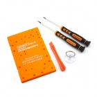 YDL-8123 RepairingScrewdriver Tool Set for IPHONE 4 - Orange + Black