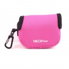NEOpine G-423-Pink Mini Protective Portable Neoprene Camera Bag for Gopro Hero 4/ 3+ / 3 / 2 - Pink