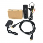S802 Android 4.4 Bluetooth V2.0 ARM Cortex A9 firekjerners HD nettverk Set-top-boks med TF - Golden