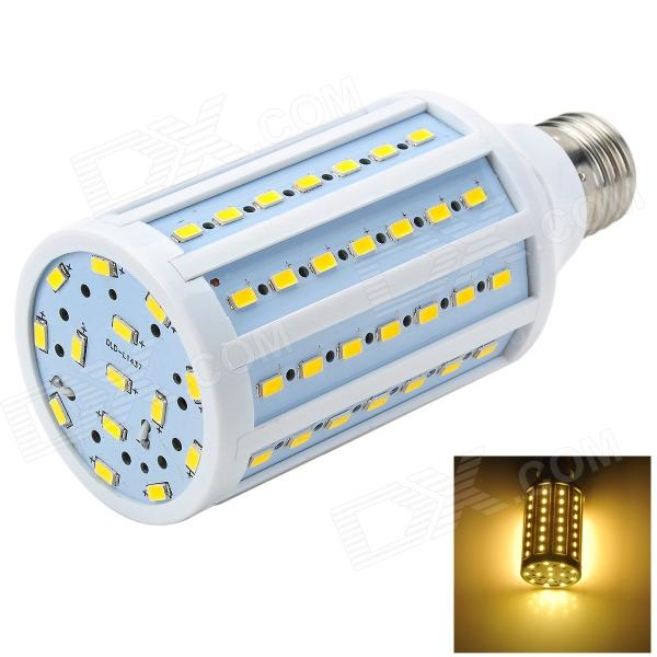 Marsing L26 E27 18W 1500lm 3500K 84-SMD 5730 LED Warm White Corn Lamp - White + Yellow (AC 220~240V) marsing e14 frosted cover 10w 1000lm 3500k 56 x smd 5730 led warm white light bulb lamp ac 220v