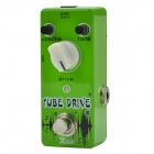 Xvive V7 Overdrive Guitar Mini Effects Pedal / Tube Drive - Apple Green