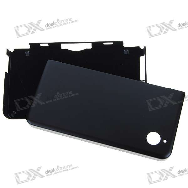 Protective Aluminum Case for DSi LL (Black)