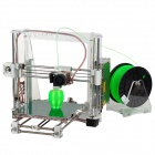 Heacent  i3 Reprap Prusa 3D Printer DIY Full Assembly Kit - White (0.3mm Nozzle / 1.75mm Filament)