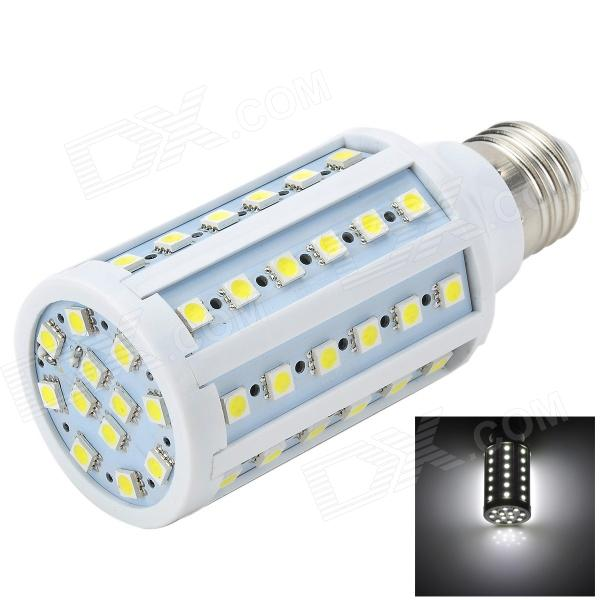 Marsing L25 E27 12W 1200lm 6500K 60-SMD 5730 LED White Corn Lamp - White + Yellow (AC 220~240V) marsing g9 3 5w 350lm 6500k 30 5050 smd led white light corn lamp white yellow ac 220 240v