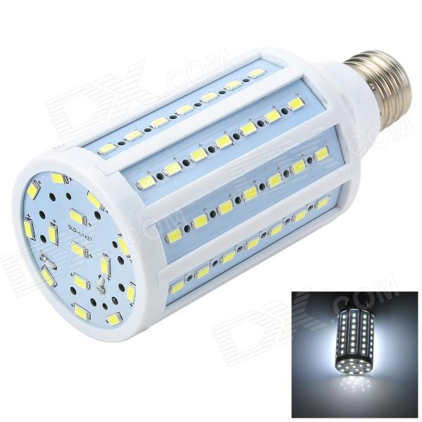 Marsing L26 E27 18W 1600lm 6500K 84-SMD 5730 LED White Corn Lamp - White + Yellow (AC 220~240V) marsing g9 3 5w 350lm 6500k 30 5050 smd led white light corn lamp white yellow ac 220 240v