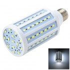 Marsing L26 E27 18W 1600lm 6500K 84-SMD 5730 LED White Corn Lamp - White + Yellow (AC 220~240V)