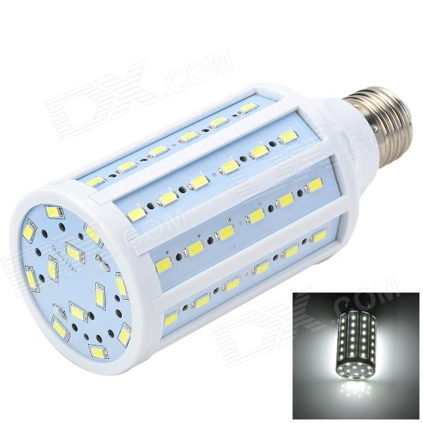 Marsing L30 E27 15W 1500lm 6500K 72-SMD 5730 LED White Corn Lamp - White + Yellow (AC 220~240V) marsing g9 3 5w 350lm 6500k 30 5050 smd led white light corn lamp white yellow ac 220 240v