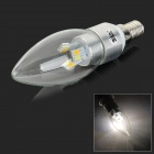 JRLED E14 4W 280lm 12-5630 SMD LED 3-Mode 3-Color Light Intelligent Bulb (110~220V)