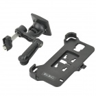 YI-YI Vehicle Car Air Conditioner Outlet Mounted Bracket with Holder for Samsung Galaxy S5 - Black