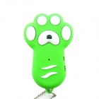 TY-102 Dog Footprint Style Wireless Bluetooth Remote Control Self-timer for Smartphones - Green