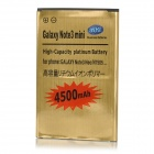 "IKKI Dual-Cell 3.8V ""4500mAh"" Li-ion Battery for Samsung Galaxy Note 3 Neo - Golden"
